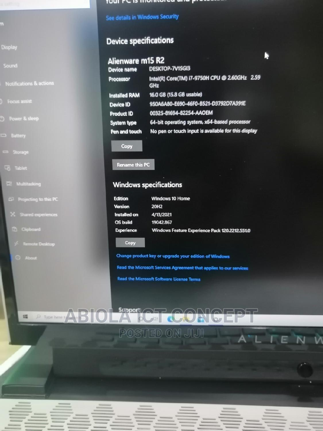Laptop Alienware M17x R2 16GB Intel Core I7 SSD 1T | Laptops & Computers for sale in Wuse, Abuja (FCT) State, Nigeria
