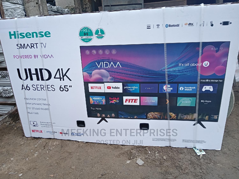 Hisense UHD 4k A6 Series 65 Inch