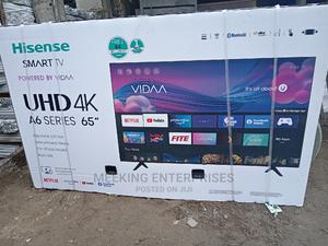 Hisense UHD 4k A6 Series 65 Inch   TV & DVD Equipment for sale in Lagos State, Ojo