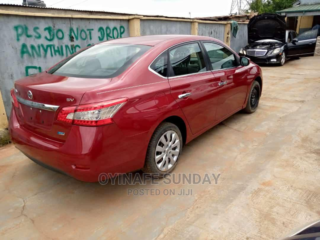 Nissan Sentra 2013 SV Red   Cars for sale in Abule Egba, Lagos State, Nigeria