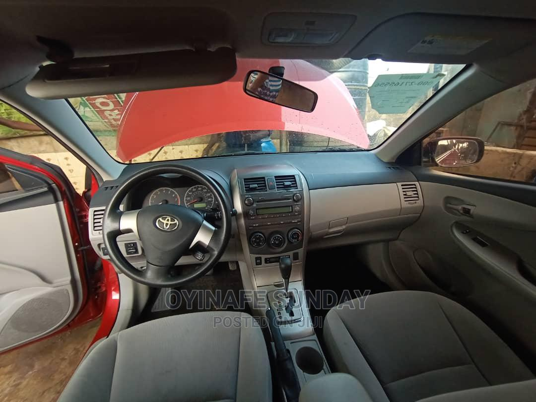 Toyota Corolla 2011 Red | Cars for sale in Abule Egba, Lagos State, Nigeria