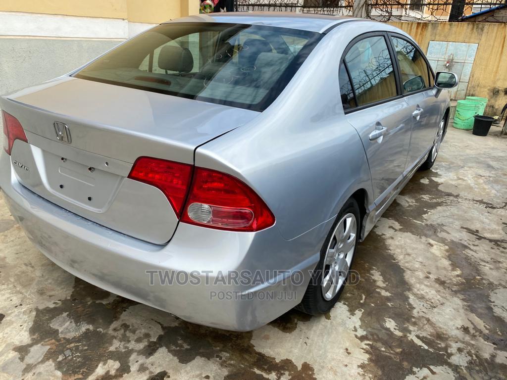 Honda Civic 2006 Silver | Cars for sale in Alimosho, Lagos State, Nigeria