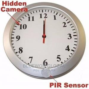 Hidden Wall Clock Spy Camera | Security & Surveillance for sale in Lagos State, Ikeja