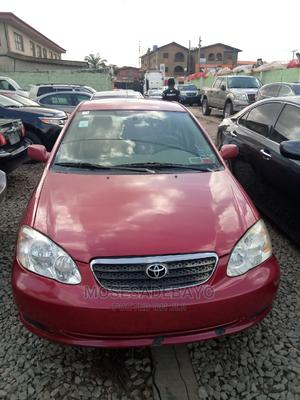 Toyota Corolla 2007 Red | Cars for sale in Lagos State, Ogba