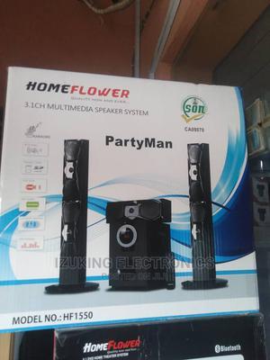 Original 3.1ch Multimedia Speaker With Karaoke Microphone | Audio & Music Equipment for sale in Lagos State, Ojo