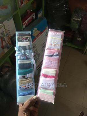 Baby Unisex 7 in 1 Gift Set Socks 0-6months   Children's Clothing for sale in Oyo State, Ibadan