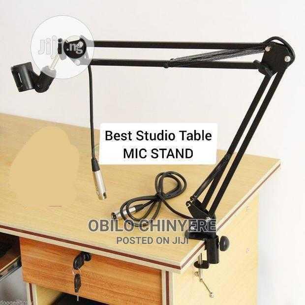 Adjustable Studio Table Microphone Stand