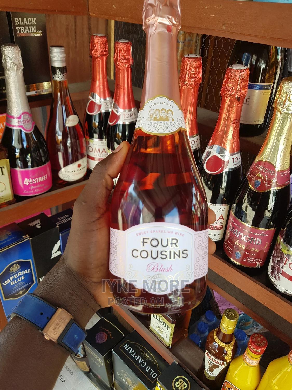 Four Cousins Champagne