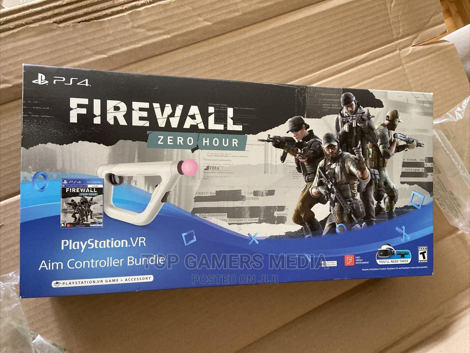 Sony Playstation VR Aim Controller Firewall Zero Hour   Accessories & Supplies for Electronics for sale in Agege, Lagos State, Nigeria