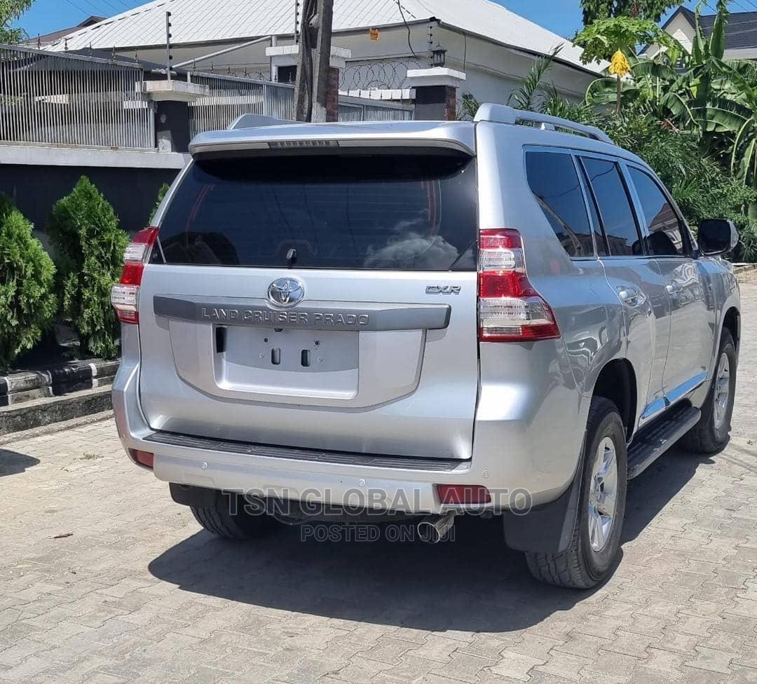 Toyota Land Cruiser Prado 2015 Silver | Cars for sale in Ajah, Lagos State, Nigeria
