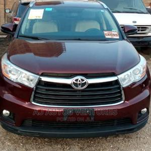 Toyota Highlander 2015 Red   Cars for sale in Lagos State, Ogba