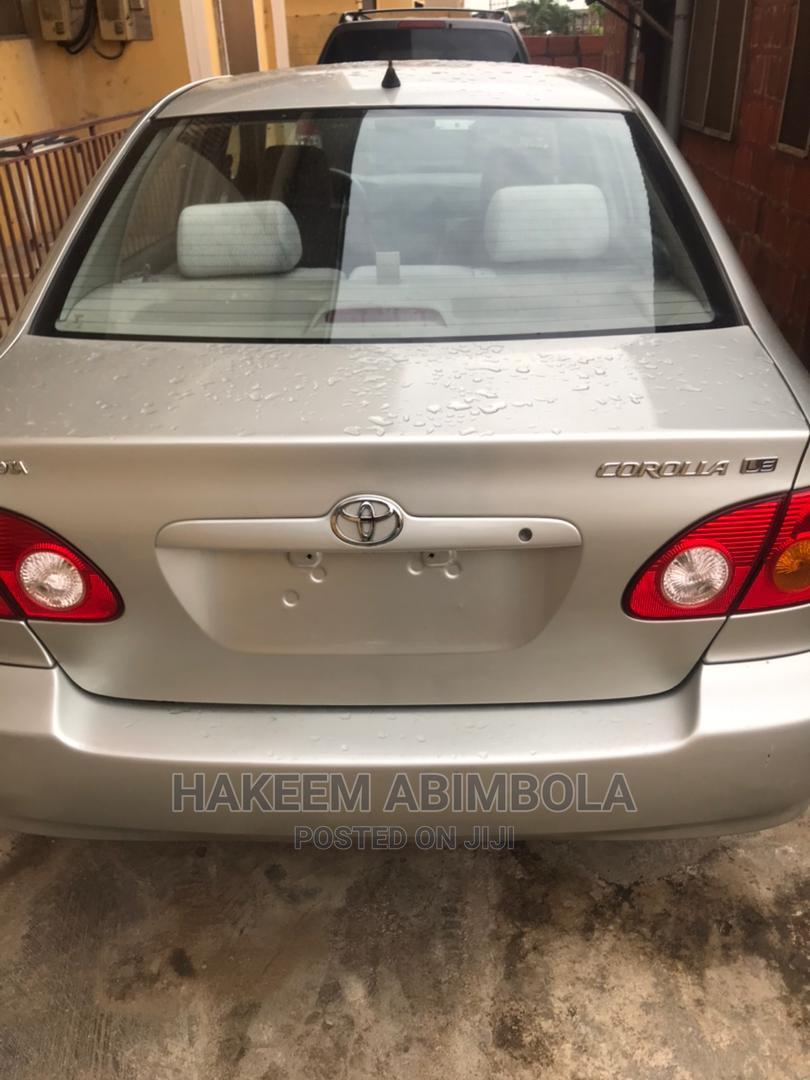 Archive: Toyota Corolla 2003 Sedan Automatic Gray