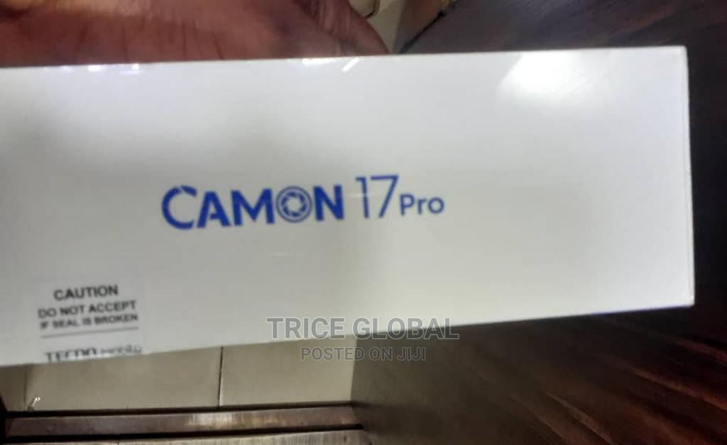 New Tecno Camon 17 128 GB Black   Mobile Phones for sale in Ikeja, Lagos State, Nigeria