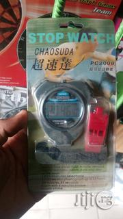 High Quality Stop Watch With Referee Whistle | Watches for sale in Lagos State, Ikeja