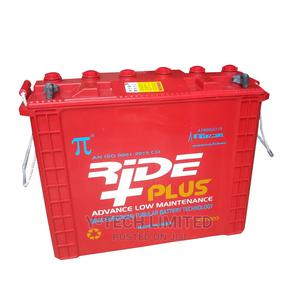 Ride Plus 220AH Tubular Inverter Battery | Solar Energy for sale in Abuja (FCT) State, Central Business Dis