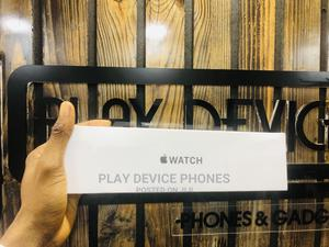 New Iwatch SE LTE 44mm Space Gray Black Sport Band   Smart Watches & Trackers for sale in Lagos State, Ikeja