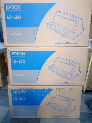 EPSON Lq-690 Dot Matrix Printer   Printers & Scanners for sale in Lagos State, Ikeja