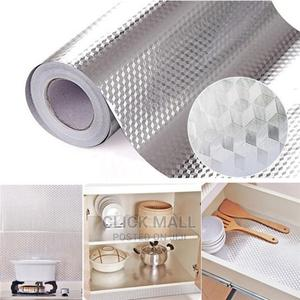 Aluminum Foil Self Adhesive Waterproof Wallpaper Kitchen Sti   Home Accessories for sale in Abuja (FCT) State, Central Business Dis