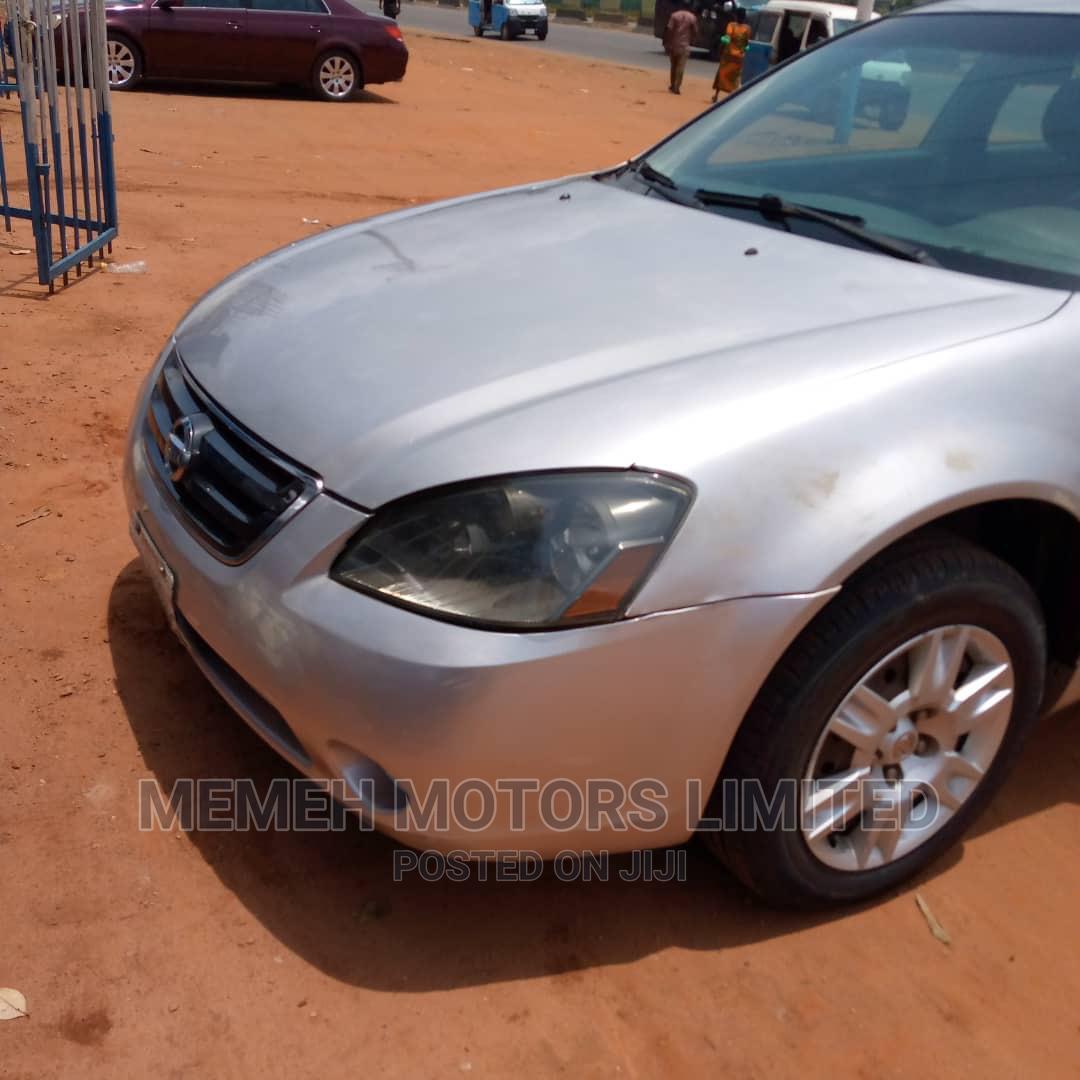 Nissan Altima 2005 2.5 Silver
