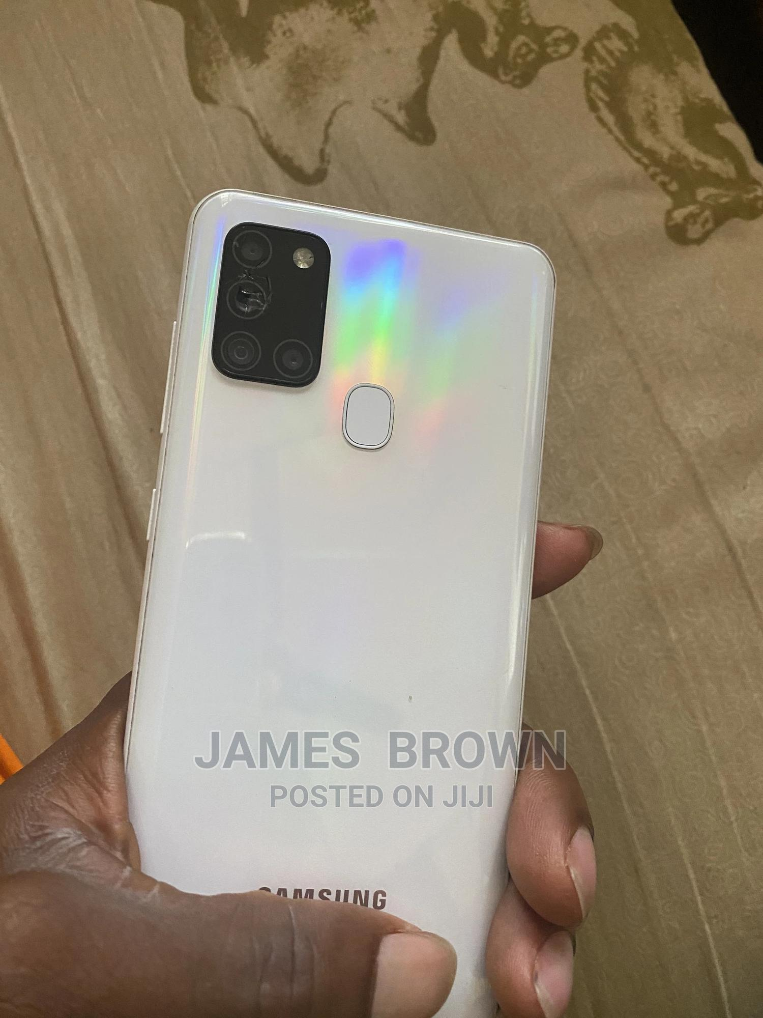 Samsung Galaxy A21s 64 GB White   Mobile Phones for sale in Asokoro, Abuja (FCT) State, Nigeria