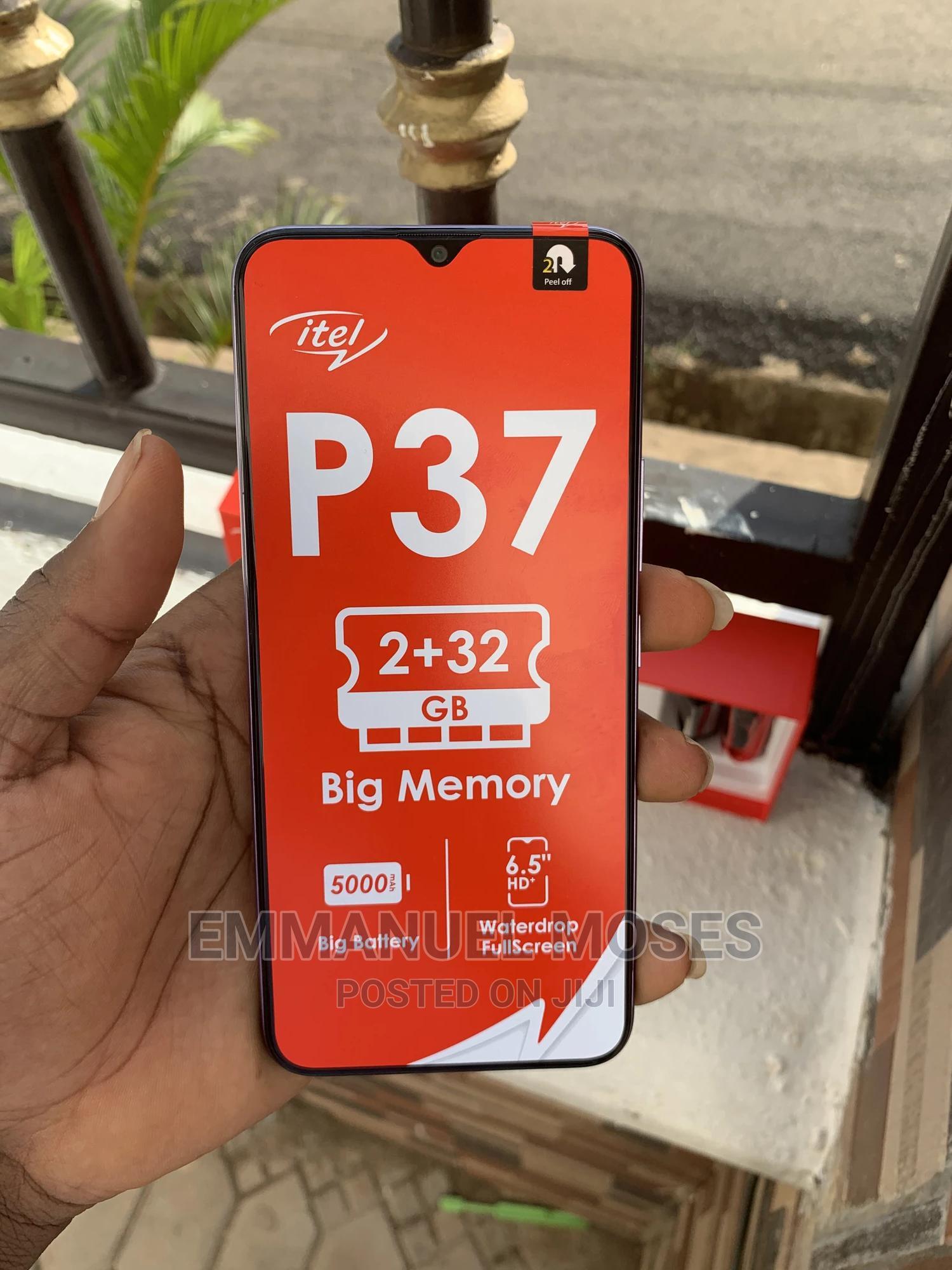 New Itel P37 64 GB Purple