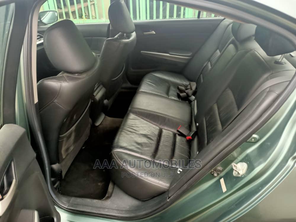 Honda Accord 2010 Sedan EX Automatic Green   Cars for sale in Surulere, Lagos State, Nigeria