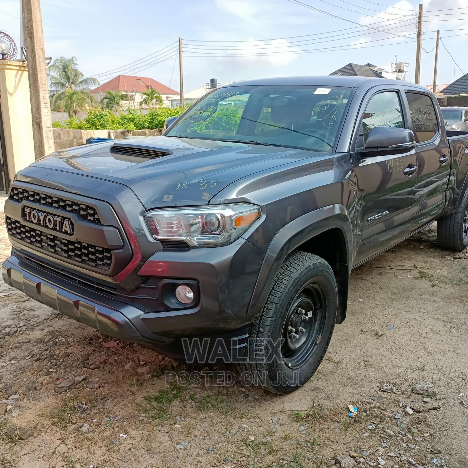Toyota Tacoma 2016 4dr Double Cab Gray   Cars for sale in Ajah, Lagos State, Nigeria