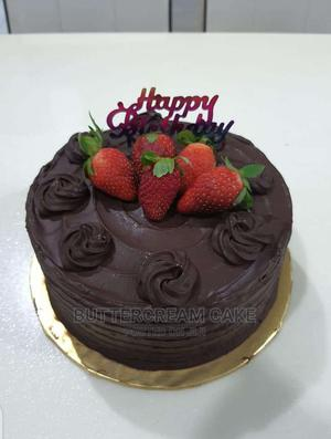 Birthday Cake Dark Chocolate Cake   Meals & Drinks for sale in Lagos State, Alimosho