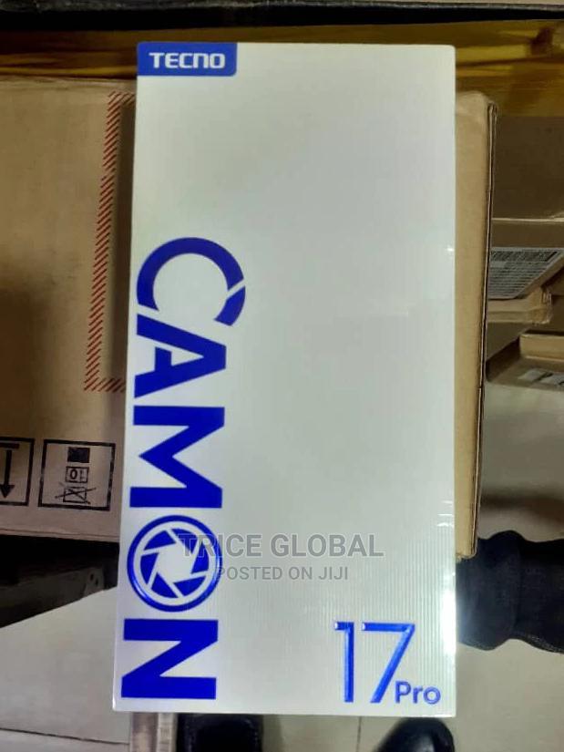 New Tecno Camon 17 128 GB Black