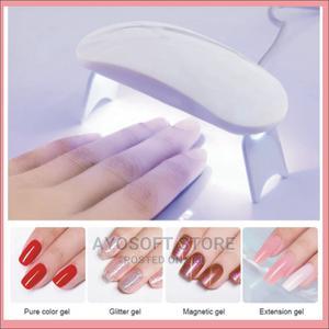 6W White Nail Dryer Machine UV LED Lamp Portable Micro USB | Tools & Accessories for sale in Ogun State, Ado-Odo/Ota