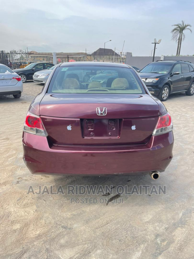 Archive: Honda Accord 2008 2.4 EX Automatic Red
