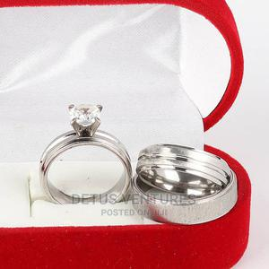 Cassidy Wedding Ring Set Silver | Wedding Wear & Accessories for sale in Lagos State, Surulere