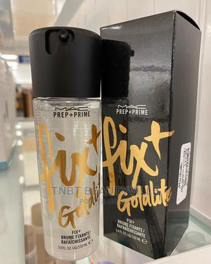 MAC Prep + Prime Fix+, Shimmer, Goldlite. 100ml   Makeup for sale in Lagos State, Lekki
