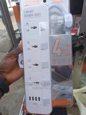 Ldnio Power 4 Universal Socket With 4 USB Output 3.4A 2500W | Home Appliances for sale in Lagos State, Ikeja
