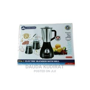 Master Chef MASTER CHEF/CROWN STAR 3 IN 1 Blender With Mill | Kitchen Appliances for sale in Lagos State, Lagos Island (Eko)