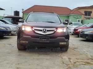Acura MDX 2008 SUV 4dr AWD (3.7 6cyl 5A) Black | Cars for sale in Lagos State, Ikeja