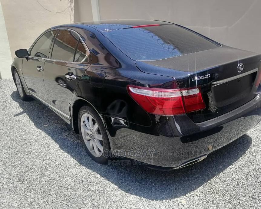 Archive: Lexus LS 2009 460 Black