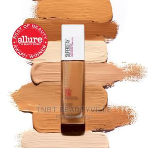 Maybelline Superstay Full Coverage Foundation. 30ml   Makeup for sale in Lagos State, Lekki