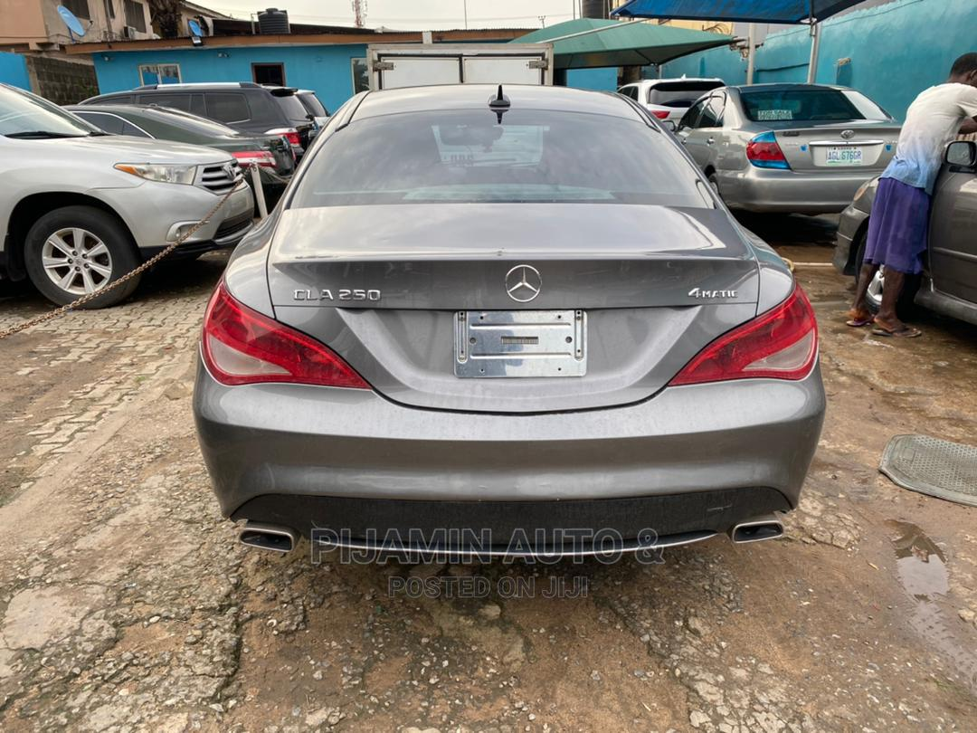 Archive: Mercedes-Benz CLA-Class 2015 Gray