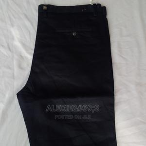 Original Quality Men's Plain Pants (Trousers) - Black | Clothing for sale in Abuja (FCT) State, Kubwa
