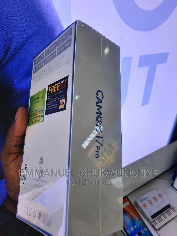 New Tecno Camon 17 Pro 256 GB Blue | Mobile Phones for sale in Ikeja, Lagos State, Nigeria