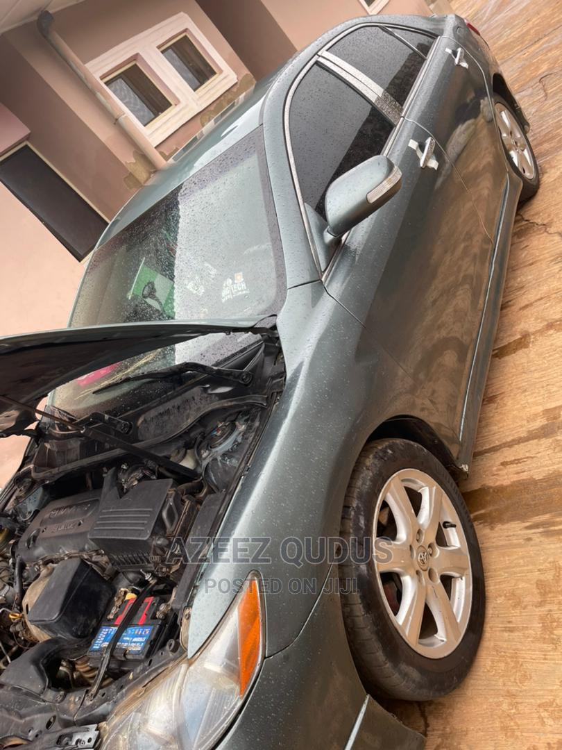 Archive: Toyota Camry 2008 2.4 SE Green