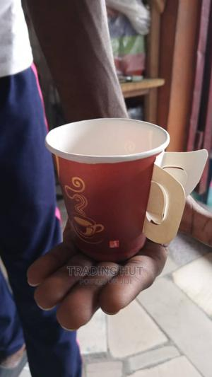 Disposable Paper Milk Tea Coffee(50 Pieces) | Kitchen & Dining for sale in Lagos State, Surulere