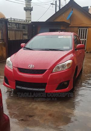 Toyota Matrix 2009 Red   Cars for sale in Lagos State, Alimosho
