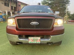 Ford F-150 2005 SuperCab 4x4 Red | Cars for sale in Lagos State, Kosofe