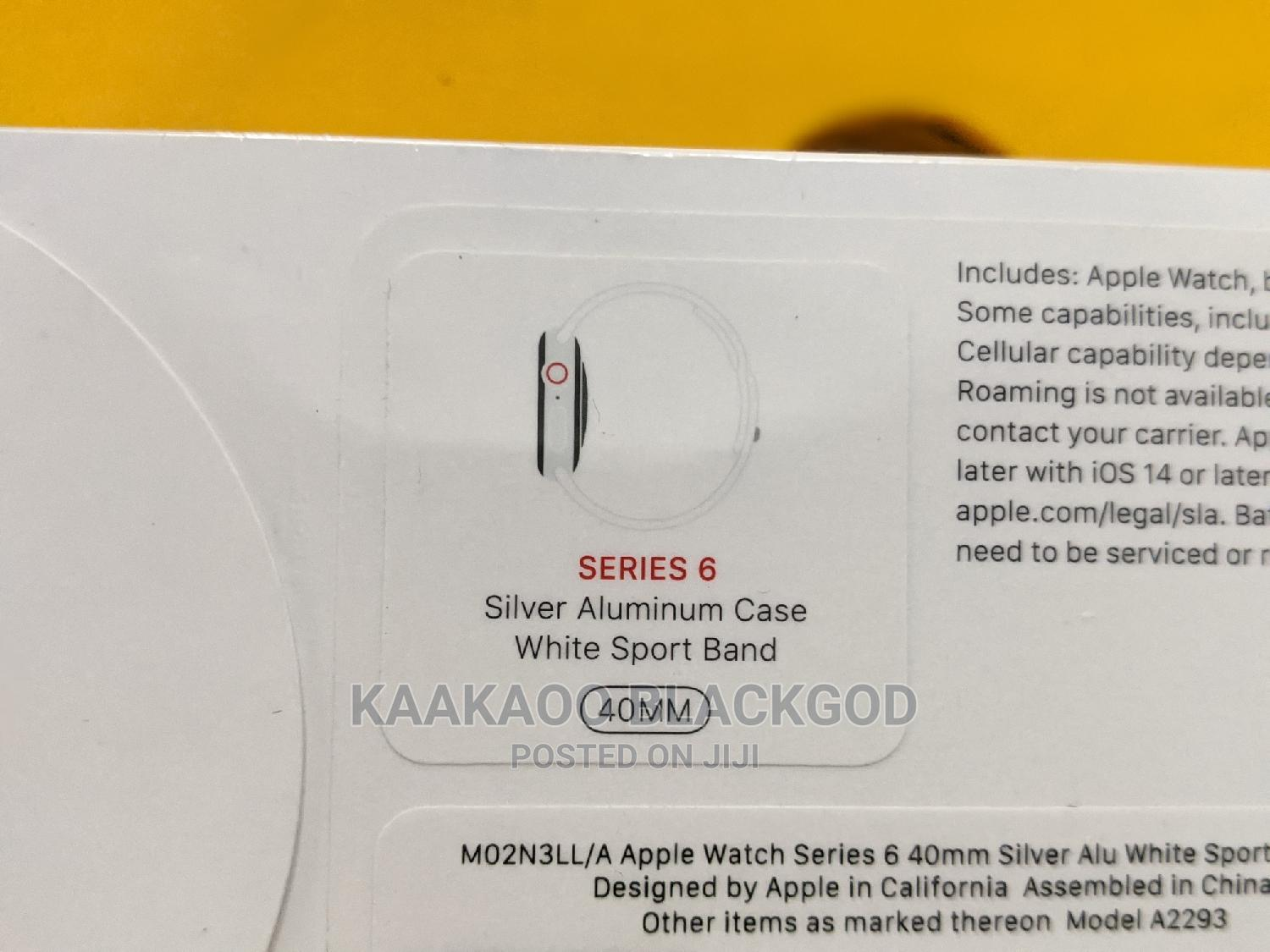 Apple Iwatch Series 6 | Smart Watches & Trackers for sale in Ikeja, Lagos State, Nigeria
