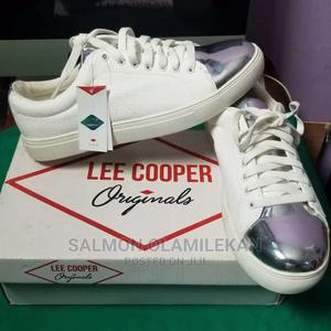 Lee Cooper Originals Sneakers (With Shiny Silver Top)   Shoes for sale in Lagos State, Ojodu