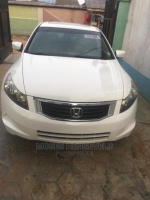 Honda Accord 2009 White | Cars for sale in Lagos State, Egbe Idimu