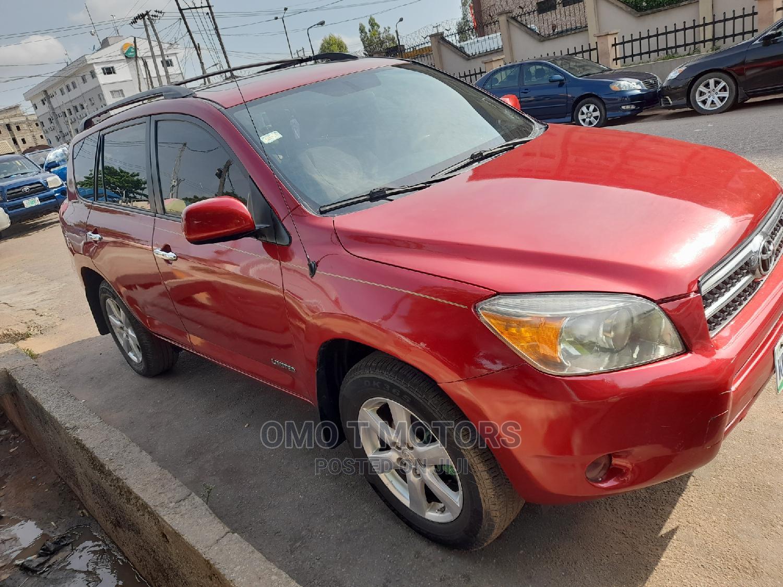 Archive: Toyota RAV4 2008 Limited V6 Red