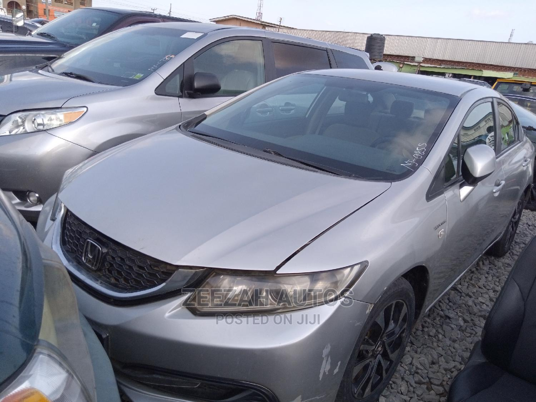 Archive: Honda Civic 2014 Silver